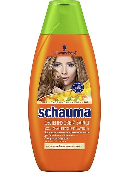 Шампунь Schauma облепиховый заряд